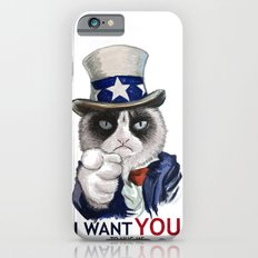 I WANT YOU Slim Case iPhone 6s