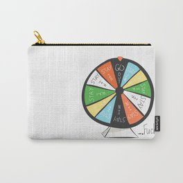 Wheel of Misfortune Carry-All Pouch