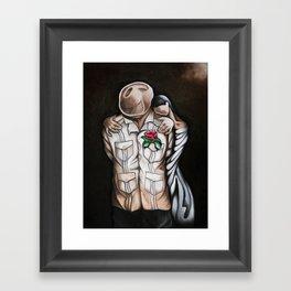 In Love or Not Framed Art Print