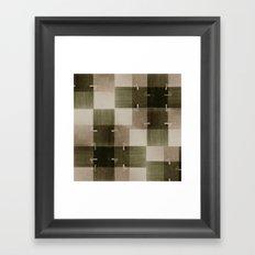 random pattern Framed Art Print