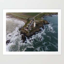 pigeon point lighthouse #1 Art Print