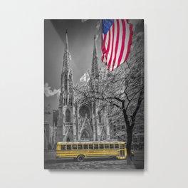 NEW YORK CITY St. Patrick's Cathedral Metal Print