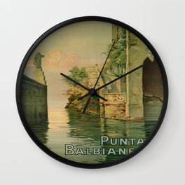 Vintage poster - Italy Wall Clock