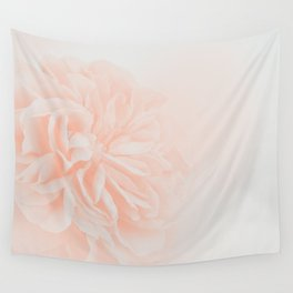 Light Peach Rose #3 #floral #art #society6 Wall Tapestry