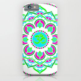 Spring Mandala | Flower Mandhala iPhone Case