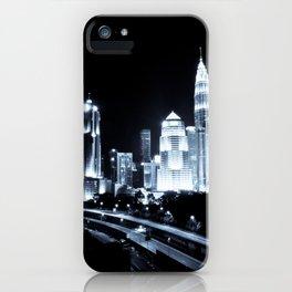 Kuala Lumpur night iPhone Case