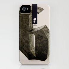 Blackletter iPhone (4, 4s) Slim Case