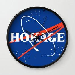 NASA HOKAGE LOGO Wall Clock