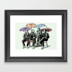 The Turtle 2 .... Framed Art Print