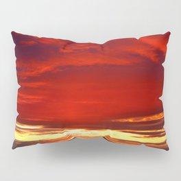 Devil sky Above Pillow Sham