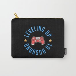 Funny Engagement Gifts For Him Groom Fiance Husband Gamer Gift Carry-All Pouch