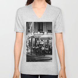 Le Chinon (Montmartre; Paris) Unisex V-Neck