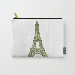 Eiffel tower GOLD / La tour Eiffel - PAINTED Carry-All Pouch