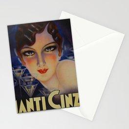 Spectacular Vintage 1933 Cinzano Advertisement by Plinio Codognato Stationery Cards
