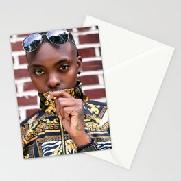 Covered Mouth Stationery Cards