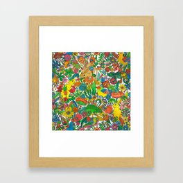 Tiny world Framed Art Print