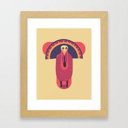 T for Turkey Framed Art Print