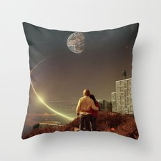 We Used To Live There, Too Throw Pillow