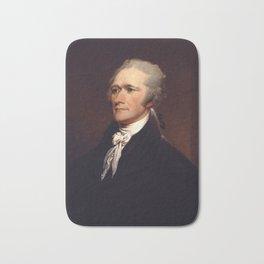 Alexander Hamilton by John Trumbull Bath Mat