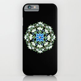 Folkloric Flower Crown iPhone Case