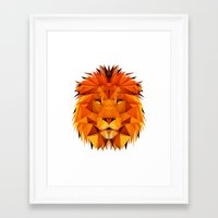 courage Framed Art Prints featuring Courage by jenkydesign