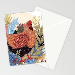 Spring Chicken Stationery Cards