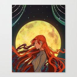 Moon Princess Canvas Print