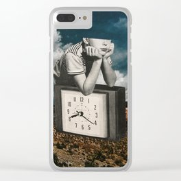 Time Zone 2 Clear iPhone Case
