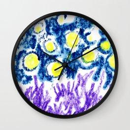 illuminated sky Wall Clock
