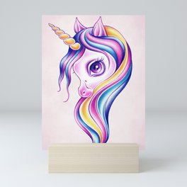Candy Pop Unicorn Mini Art Print