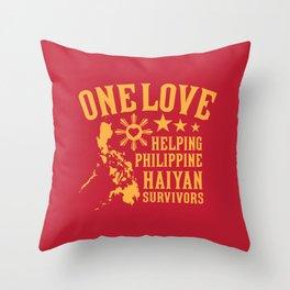 HAIYAN FUND RAISER Throw Pillow
