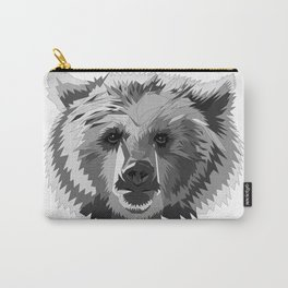BEAR CUBISM Carry-All Pouch