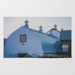Creamers Dairy and Barn, Fairbanks Alaska Rug
