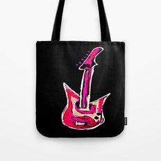 pink guitar Tote Bag