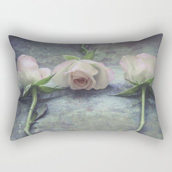 Three roses  III Rectangular Pillow