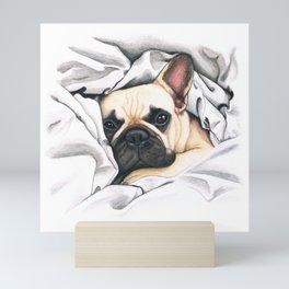 French Bulldog - F.I.P. - Miuda Frenchie Mini Art Print