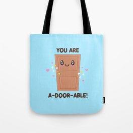 Wood You Be My Valentine? Tote Bag