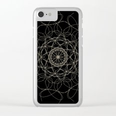 mandala - floral 2 Clear iPhone Case