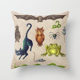 Pets Throw Pillow
