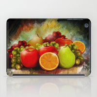 fruits iPad Cases featuring fruits by ErsanYagiz