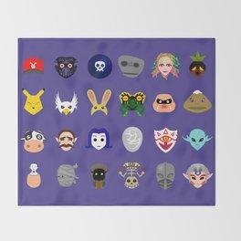 Majora's Masks Throw Blanket
