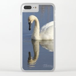 Through God's Eyes Clear iPhone Case