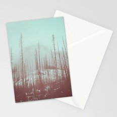 Burnt Winter Stationery Cards