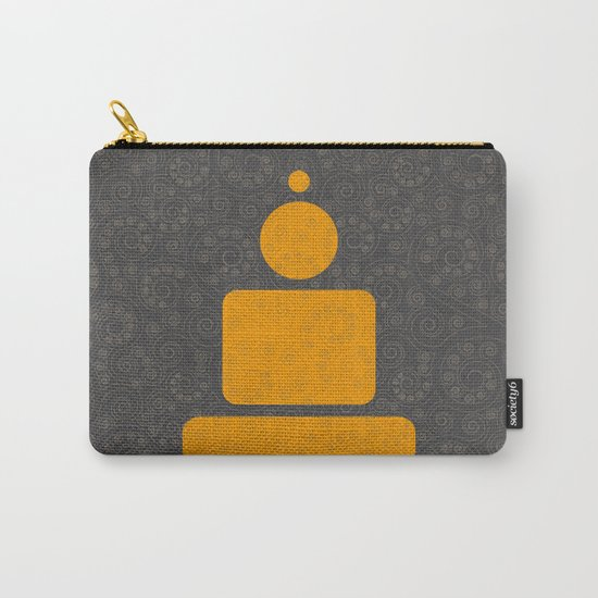 Geometric meditation - Buddha Carry-All Pouch