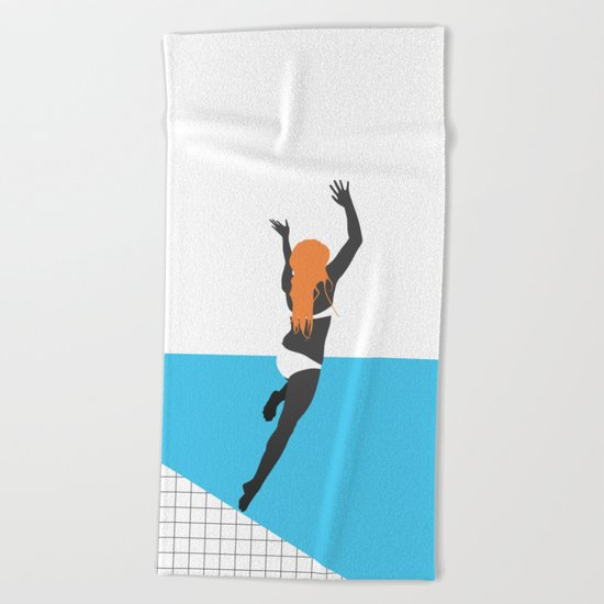 Hello Summer! Beach Towel