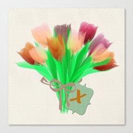 Best Tulips Canvas Print