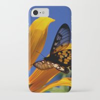 transparent iPhone & iPod Cases featuring Transparent Butterfly by Donuts
