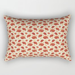 "Background abstract pattern ""Autumn leaves"", vector, texture design. Rectangular Pillow"