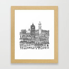 Siena, Italy Framed Art Print