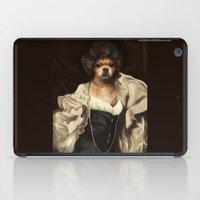 karu kara iPad Cases featuring Ruffs and Collars - Kara by LiseRichardson